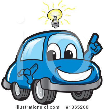 Car Character Clipart #1365208 by Toons4Biz
