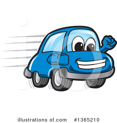 Car Character Clipart #1365210 by Toons4Biz