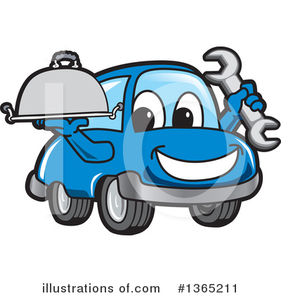 Car Character Clipart #1365211 by Toons4Biz