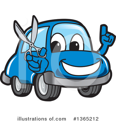 Car Character Clipart #1365212 by Toons4Biz