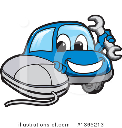Car Character Clipart #1365213 by Toons4Biz