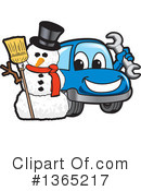 Car Character Clipart #1365217 by Toons4Biz