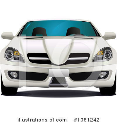 Car Clipart #1061242 by Vector Tradition SM