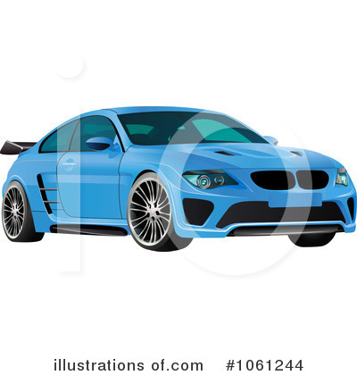 Car Clipart #1061244 by Vector Tradition SM