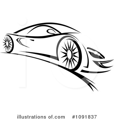 Car Clipart #1091837 by Vector Tradition SM