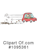Royalty-Free (RF) Car Clipart Illustration #1095361