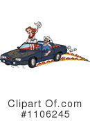 Royalty-Free (RF) Car Clipart Illustration #1106245