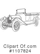 Royalty-Free (RF) Car Clipart Illustration #1107824