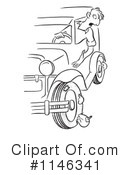 Royalty-Free (RF) car Clipart Illustration #1146341