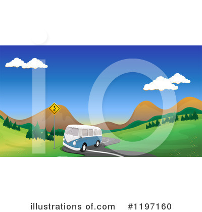 Kombi Clipart #1197160 by Graphics RF
