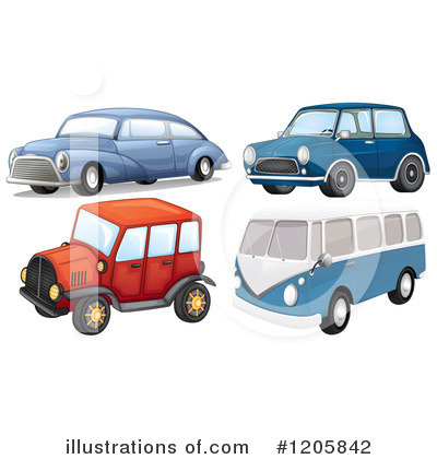 Kombi Clipart #1205842 by Graphics RF