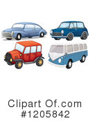 Royalty-Free (RF) Car Clipart Illustration #1205842
