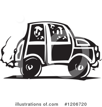 Royalty-Free (RF) Car Clipart Illustration by xunantunich - Stock Sample #1206720