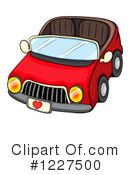 Car Clipart #1227500 by Graphics RF