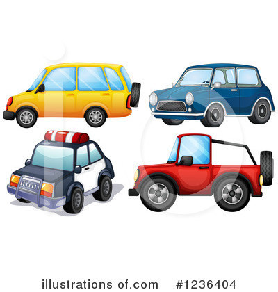 Police Car Clipart #1236404 by Graphics RF
