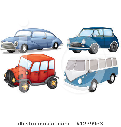 Kombi Clipart #1239953 by Graphics RF