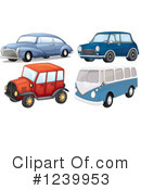 Royalty-Free (RF) Car Clipart Illustration #1239953