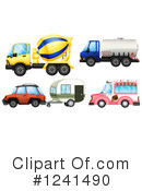 Car Clipart #1241490 by Graphics RF