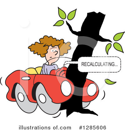 Car Wreck Clipart #1285606 by Johnny Sajem