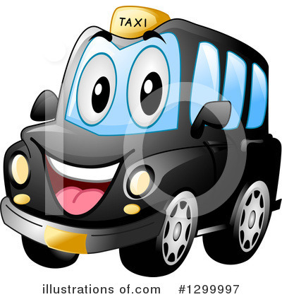 Taxi Clipart #1299997 by BNP Design Studio