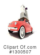 Royalty-Free (RF) Car Clipart Illustration #1300507