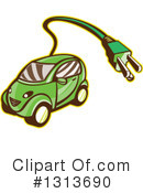 Royalty-Free (RF) Car Clipart Illustration #1313690