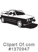 Car Clipart #1370947 by David Rey