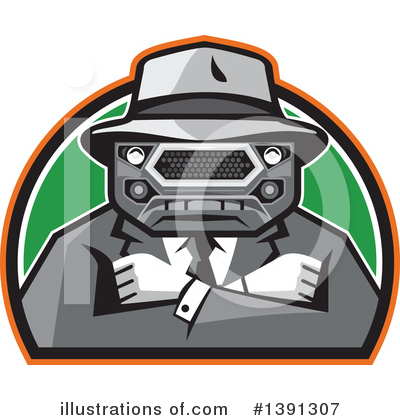 Mobster Clipart #1391307 by patrimonio
