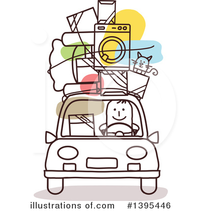 Royalty-Free (RF) Car Clipart Illustration by NL shop - Stock Sample #1395446
