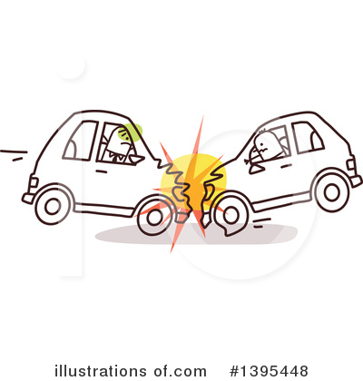 Car Wreck Clipart #1395448 by NL shop