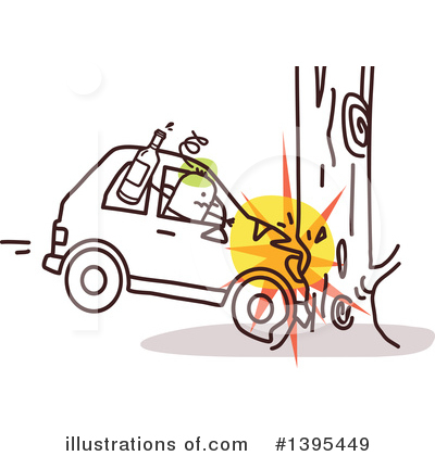 Car Wreck Clipart #1395449 by NL shop