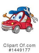 Car Clipart #1449177 by Domenico Condello