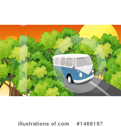 Kombi Clipart #1466197 by Graphics RF