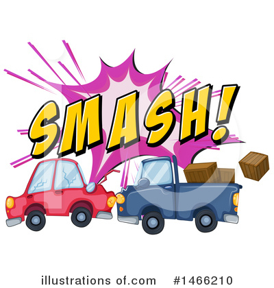 Car Wreck Clipart #1466210 by Graphics RF
