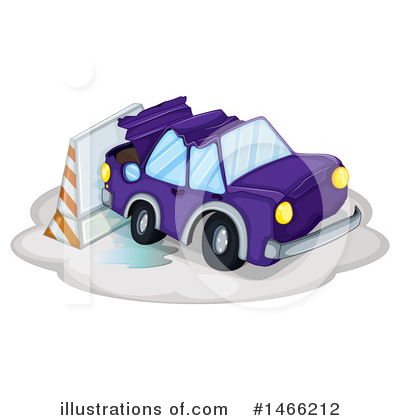 Car Wreck Clipart #1466212 by Graphics RF
