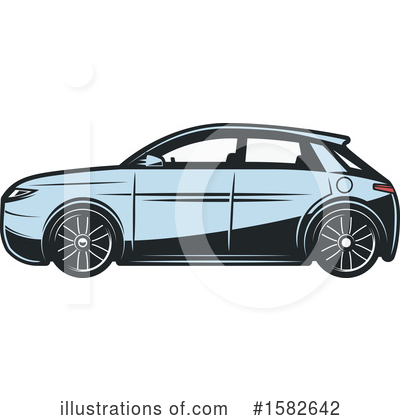 Car Clipart #1582642 by Vector Tradition SM