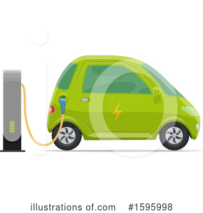 Car Clipart #1595998 by Vector Tradition SM