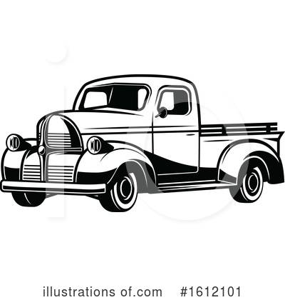 Truck Clipart #1612101 by Vector Tradition SM