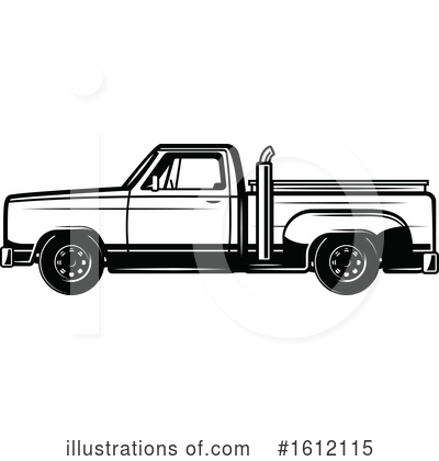 Truck Clipart #1612115 by Vector Tradition SM
