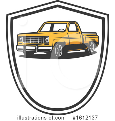 Truck Clipart #1612137 by Vector Tradition SM