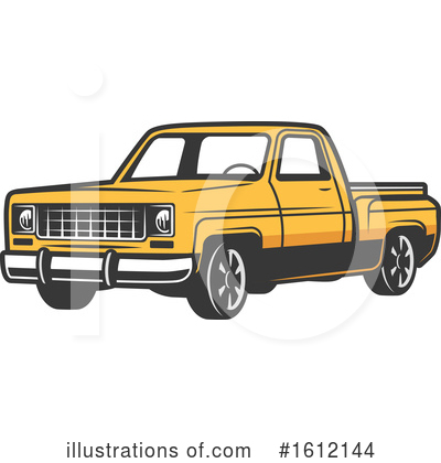 Truck Clipart #1612144 by Vector Tradition SM