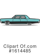 Car Clipart #1614485 by Vector Tradition SM