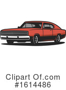 Car Clipart #1614486 by Vector Tradition SM