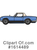 Car Clipart #1614489 by Vector Tradition SM