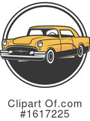 Car Clipart #1617225 by Vector Tradition SM