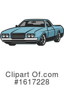 Car Clipart #1617228 by Vector Tradition SM