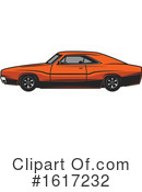 Car Clipart #1617232 by Vector Tradition SM