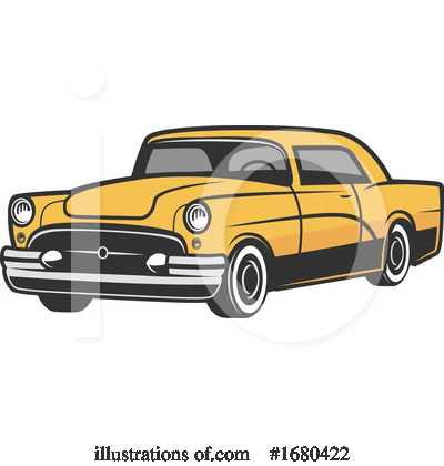Royalty-Free (RF) Car Clipart Illustration by Vector Tradition SM - Stock Sample #1680422