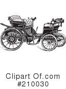 Royalty-Free (RF) Car Clipart Illustration #210030