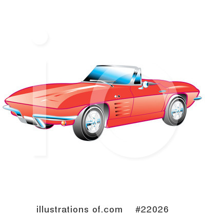 Muscle Car Clipart #22026 by Andy Nortnik